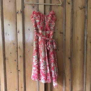 Ralph Lauren floral spaghetti strap dress